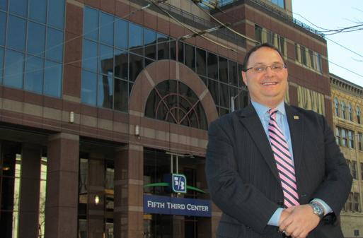 Steve Petitjean was named the head of the Dayton market for Fifth Third Bank in 2011.