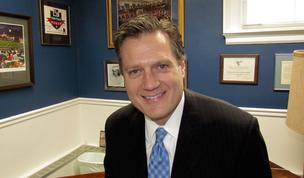 U.S. Rep. Mike Turner, R-Dayton, and other Congressional leaders met to drum up support for setting aside the automatic cuts that went into effect today.