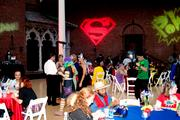 More than 200 people attended the Superhero Costume Ball.