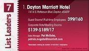Dayton Marriott Hotel is the No. 1 Dayton-area hotel.