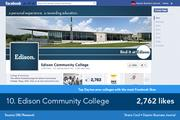 Many posts on Edison Community College's page are quotes or helpful reminders about what's going on around campus.
