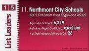 Northmont City Schools is the No. 11 Dayton-area public school district.