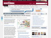 12. DBJ names 2012 Best Places to Work winners