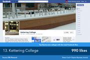 Kettering College posts frequent reminders about deadlines, as well as plenty of articles and activities which may be of interest to its students.