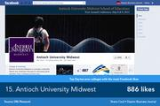 Antioch University Midwest's Facebook page is focused on items of regional interest.