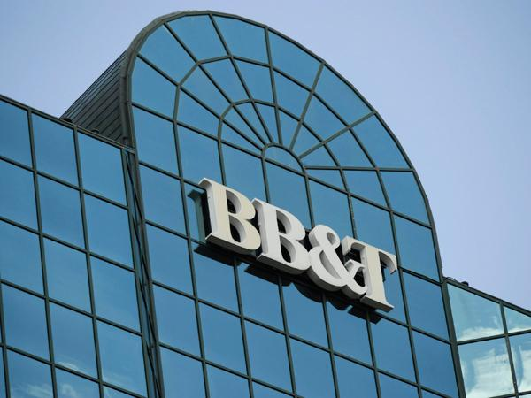 BB&T's first quarter profits were down compared to last year due to an adjustment for a tax liability.