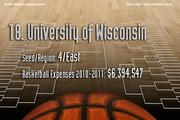 18. University of Wisconsin