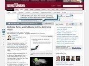 19. Defense firms win billions in U.S. Air Force deals