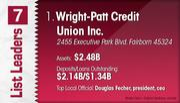 Wright-Patt Credit Union Inc. is the No. 1 Dayton-area credit union.