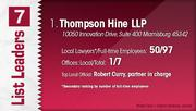 Thompson Hine LLP is the No. 1 Dayton-area law firm.