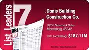 Danis Building Construction Co. is the No. 1 Dayton-area commercial construction company.