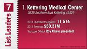 Kettering Medical Center is the No. 1 Dayton-area outpatient surgery center.