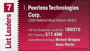 Peerless Technologies Corp. is the No. 1 Dayton-area minority-owned company.