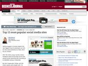 1. Facebook, Twitter, LinkedIn lead Top 15 most-popular social media sites
