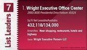 Wright Executive Office Center is the No. 1 Dayton-area suburban office center.