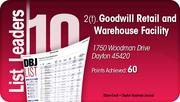 Goodwill Retail and Warehouse Facility is tied for the No. 2 Dayton-area LEED certified project.