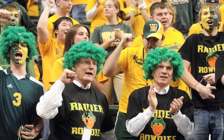 In the middle of one of their best seasons, Wright State University men's basketball program is pulling out all the stops to get a sellout for Saturday's game against University of Illinois Chicago.