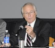David Hopkins, president of Wright State University