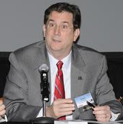 Daniel Curran, president of the University of Dayton