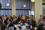 More than 220 people attended the Defense Forum.