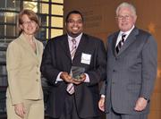 40 Under 40 winner Michael Gaines with Sinclair Community College.