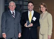 40 Under 40 winner Scott Murphy with Air Force Research Laboratory.