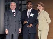 40 Under 40 winner Anand Ponnuswamy with Corbus LLC.