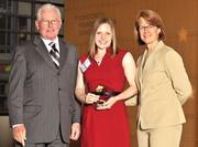 40 Under 40 winner Jessica Saunders with The Children's Medical Center of Dayton.