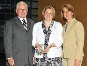 40 Under 40 winner Amy Stockman with Good Samaritan Hospital.