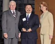 40 Under 40 winner Augustine Vu with the Air Force Research Laboratory.