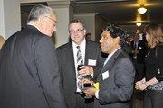 Randy Fogle with Battelle & Battelle, and Sivaram Gogineni with Spectral Energies