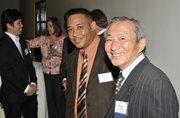 Chris Durant and Kyozaburo Takagi with Fukuvi USA