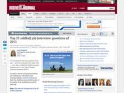 24. Top 25 oddball job interview questions of 2011