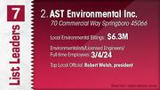AST Environmental Inc. is the No. 2 Dayton-area environmental engineering firm.