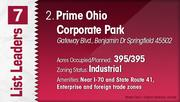 Prime Ohio Corporate Park is the No. 2 Dayton-area industrial park.