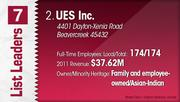 UES Inc. is the No. 2 Dayton-area minority-owned company.