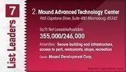 Mound Advanced Technology Center is the No. 2 Dayton-area suburban office center.