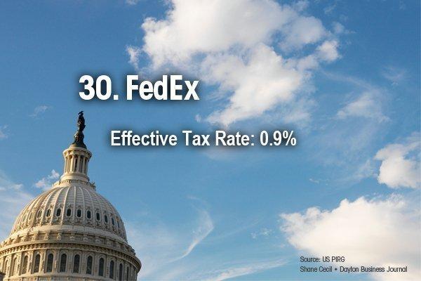 30. FedEx