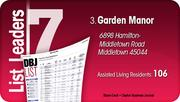 Garden Manor is the No. 3 Dayton-area assisted living community.