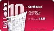 CareSource is the No. 3 Dayton-area company.
