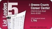 Greene County Career Center is the No. 3 Dayton-area computer training program.