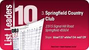 Springfield Country Club is the No. 3 Dayton-area Private Golf Course.