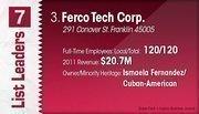 Ferco Tech Corp. is the No. 3 Dayton-area minority-owned company.