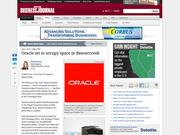 3. Oracle set to occupy space in Beavercreek