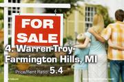 4. Warren-Troy-Farmington Hills, MI