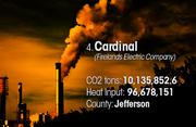 Cardinal is the No. 4 worst facility for toxic air pollution in Ohio.
