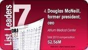 Douglas McNeill is the No. 4 Dayton-area hospital executive compensation.