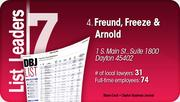 Freund, Freeze & Arnold is the No. 4 Dayton-area law firm.