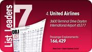 United Airlines is the No. 4 Dayton-area busiest passenger airline.