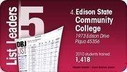 Edison State Community College is the No. 4 Dayton-area computer training program.